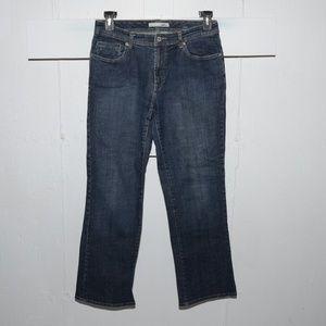 Chico's quartz womens jeans size 1 S 510